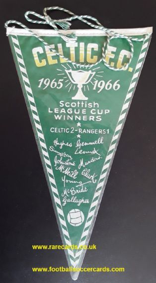 1966 Celtic League Cup Winners Lisbon Lions